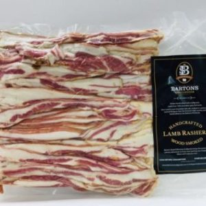 Lamb Bacon Rashers 500g
